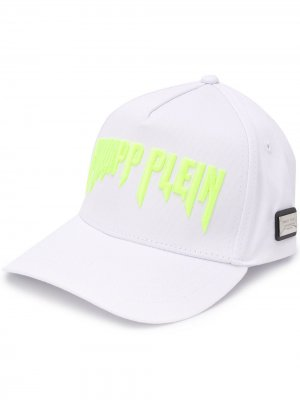 Бейсболка Rock PP Philipp Plein. Цвет: белый
