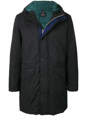 Lomax hooded jacket Ps By Paul Smith. Цвет: черный