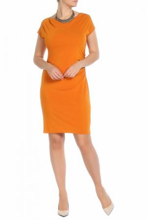 Платье Marella. Цвет: горчичный