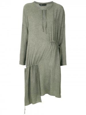 Платье Bristol асимметричного кроя Uma | Raquel Davidowicz. Цвет: зеленый