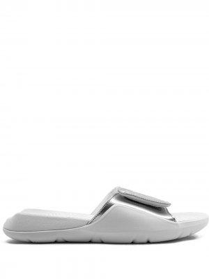 Шлепанцы  Hydro 7 Jordan. Цвет: белый