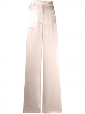 Широкие брюки с завышенной талией Tom Ford. Цвет: розовый