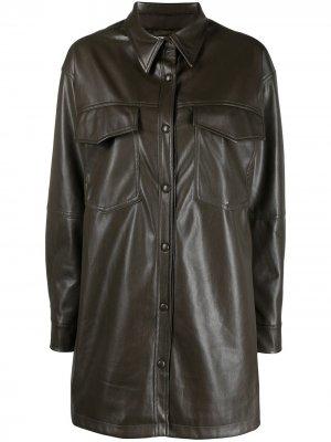 Куртка-рубашка Riley Apparis. Цвет: зеленый