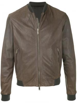 Bomber jacket Costume National. Цвет: зеленый