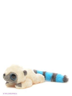 Юху и друзья Игрушка мягкая голубой лежачий 16 см AURORA. Цвет: голубой