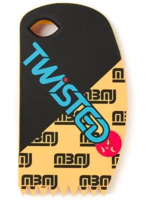 Чехол для iPhone 5 Twisted Marc By Jacobs. Цвет: черный