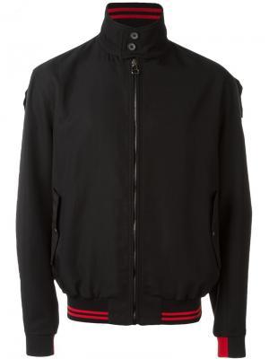 Куртка-бомбер Lanvin. Цвет: черный