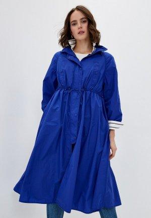 Плащ Max&Co. Цвет: синий