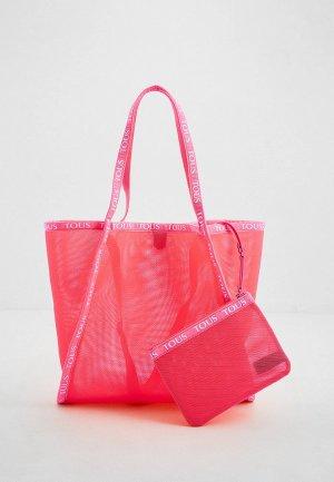 Сумка Tous. Цвет: розовый
