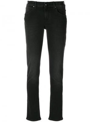 Классические джинсы скинни Jacob Cohen. Цвет: черный