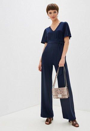 Комбинезон DKNY. Цвет: синий