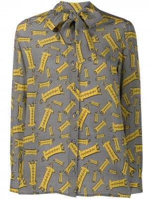 Рубашка с принтом Ultràchic. Цвет: черный