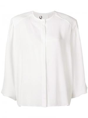 Loose fitted blouse 8pm. Цвет: белый