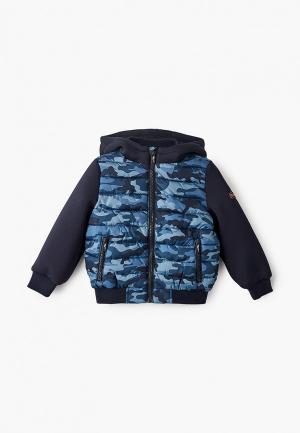 Куртка утепленная Blukids. Цвет: синий
