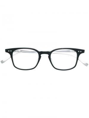 Очки Buckeye Dita Eyewear. Цвет: черный