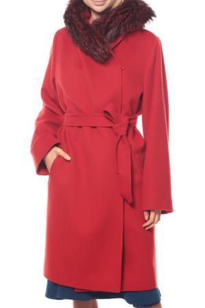 Пальто MAXMARA. Цвет: красный