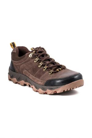 Ботинки AG. Цвет: темно-коричневый
