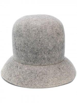Шляпа с наклонными полями Nina Ricci. Цвет: серый
