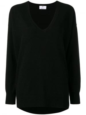 Loose fitted sweater Allude. Цвет: черный