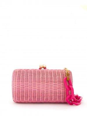 Клатч Wicker SERPUI. Цвет: розовый
