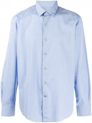 Рубашка на пуговицах LANVIN. Цвет: синий