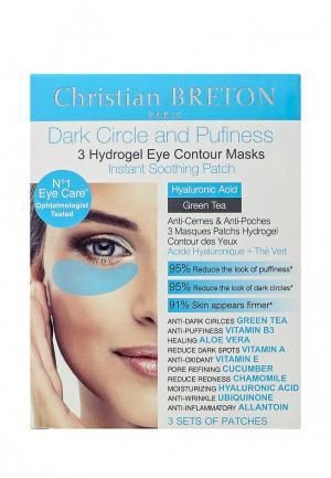 Патчи для глаз Christian Breton Paris. Цвет: прозрачный
