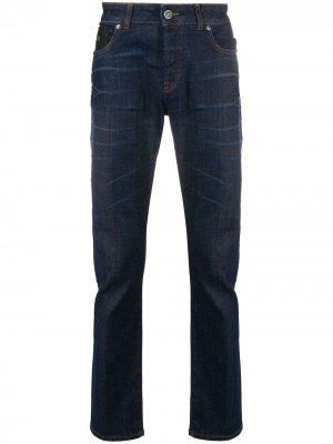 Прямые джинсы John Richmond. Цвет: синий