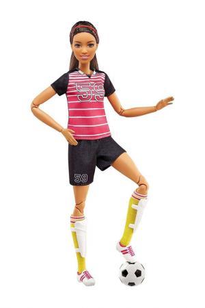 Барби (Футболистка) Barbie. Цвет: черный
