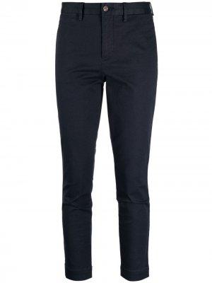Прямые брюки Polo Ralph Lauren. Цвет: синий