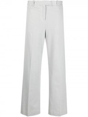 Прямые брюки строгого кроя Circolo 1901. Цвет: серый