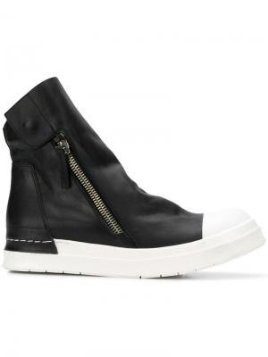 Ботинки по щиколотку на молнии Cinzia Araia. Цвет: черный