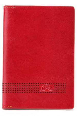 Обложка для паспорта Tony Perotti. Цвет: красный