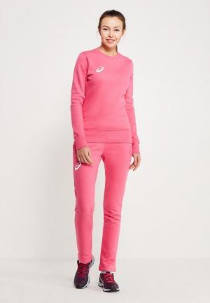 Костюм спортивный ASICS. Цвет: розовый