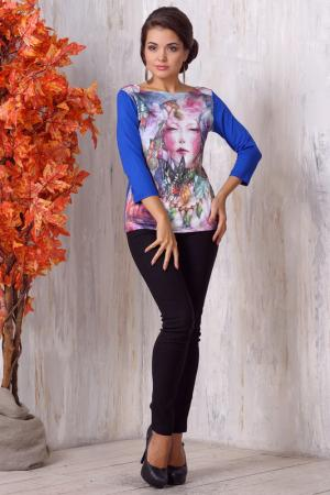 Блузка VAY. Цвет: мультицвет