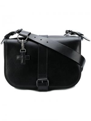 Buckled crossbody bag A.F.Vandevorst. Цвет: черный