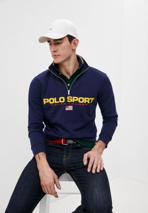Олимпийка Polo Ralph Lauren. Цвет: синий