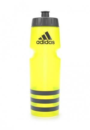 Бутылка adidas Performance. Цвет: желтый