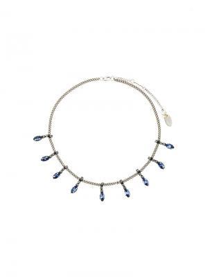 Ожерелье с подвесками Radà. Цвет: металлик