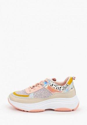 Кроссовки Ideal Shoes. Цвет: разноцветный