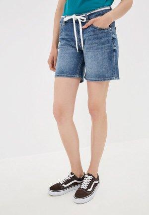 Шорты джинсовые Q/S designed by. Цвет: синий