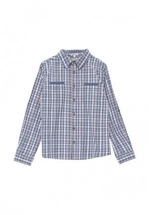 Рубашка 3 Pommes. Цвет: голубой