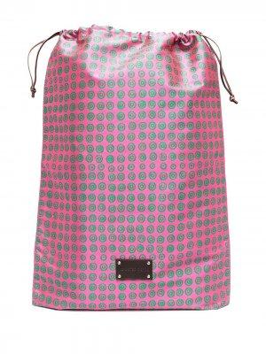 Дорожная сумка Eris с логотипом 10 CORSO COMO. Цвет: розовый
