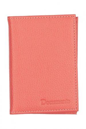 Обложка для паспорта KIN. Цвет: оранжевый