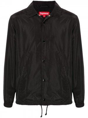 Digi Coaches jacket SS17 Supreme. Цвет: черный
