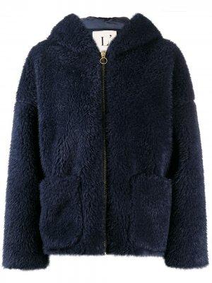 LAutre Chose пальто из шерпы L'Autre. Цвет: синий