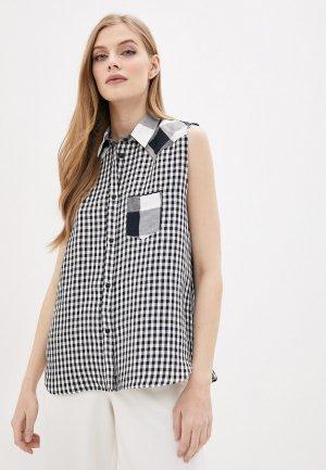 Блуза Woolrich. Цвет: разноцветный