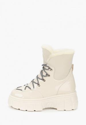 Ботинки El Tempo. Цвет: белый