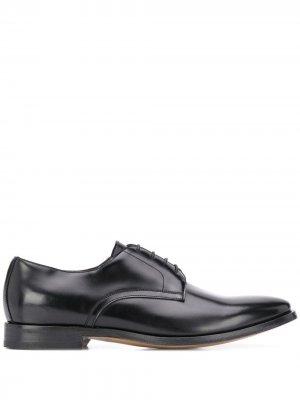 Delloglio туфли дерби на шнуровке Dell'oglio. Цвет: черный