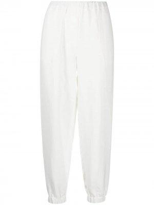 Зауженные брюки Sonia Antonelli. Цвет: белый