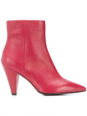 Ankle boots The Seller. Цвет: красный